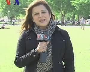 Sana Ek Pakistani on VOA News - 21st June 2013