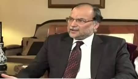 Sana Mirza Live (Ahsan Iqbal Exclusive Interview) – 22nd September 2015