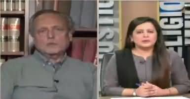 Sana Mirza Live (PMLN's Aggressive Strategy) – 5th July 2017