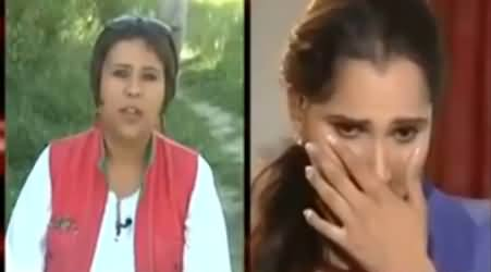 Sania Mirza Crying On The Behaviour of Indian Extremists with Her