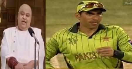 Sarfaraz Dhoka Dega - Very Funny Video By Samaa News on Misbah & Tapaswi Maharaj