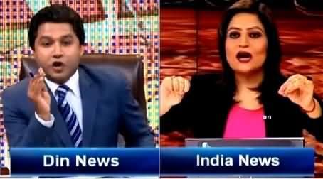 Sarhad Paar (Hot Debate Between Pak India Analysts) – 14th March 2015