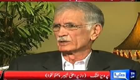 Sawaal (CM KPK Pervez Khattak Exclusive Interview) – 10th November 2014