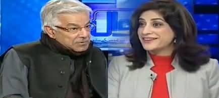 Sawal Amber Shamsi Kay Sath (Khawaja Asif Exclusive Interview) - 4th February 2019