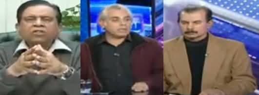Sawal Amber Shamsi Kay Sath (Pak Bharat Kasheedagi) - 28th February 2019