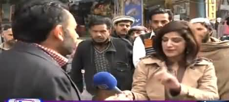 Sawal Amber Shamsi Kay Sath (Public Views About PTI Govt) - 13th February 2019