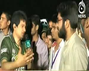 Sawal Hai Pakistan Ka (Public Much Excited About Pak India Match) – 21st March 2014