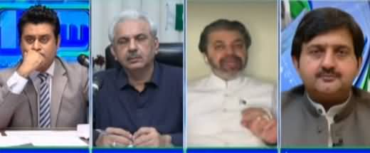Sawal with Ehtesham (Azam Swati's Allegations Against ECP) - 10th September 2021