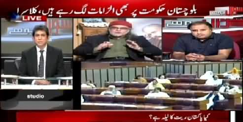 Sawal Yeh Hai (Rauf Klasra & Zaid Hamid on Current Issues) – 11th April 2015