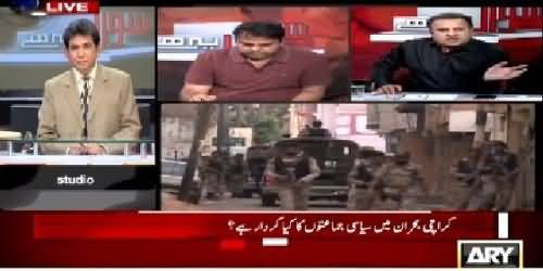 Sawal Yeh Hai (Role of Political Parties in Karachi Crisis?) – 2nd May 2015
