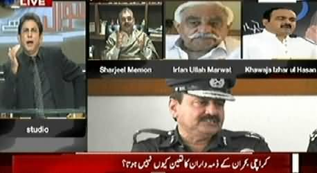 Sawal Yeh Hai (Who is Responsible For Karachi Situation) - 30th January 2015
