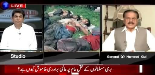 Sawal Yeh Hai (Why Muslim World Silent on Burma's Situation) – 7th June 2015