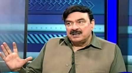 Sayasat Hai Ya Saazish (Sheikh Rasheed Ahmad Exclusive Interview) – 21st April 2015
