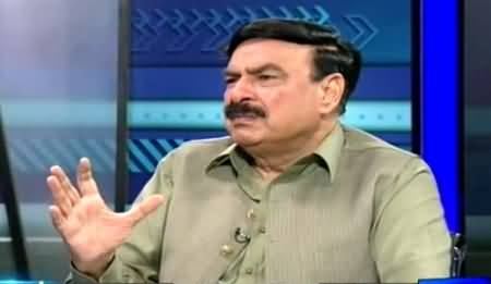 Sayasat Hai Ya Saazish (Sheikh Rasheed Exclusive Interview) – 27th May 2015