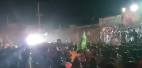 See Amazing Reception of Maryam Nawaz in Khoshab