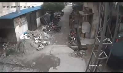 See Exclusive CCTV Footage of Today's Earthquake in Mirpur Azad Kashmir