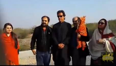 See How Emotionally This Man is Rooting for Imran Khan while IK Goes Back to Bani Gala