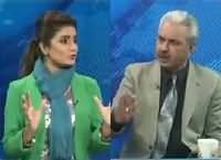 Seedhi Baat (Arif Hameed Bhatti Exclusive Interview) – 28th January 2015