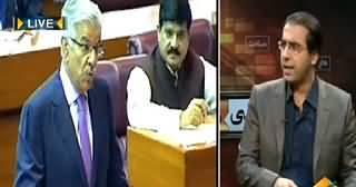 Seedhi Baat (Khawaja Asif Imran Khan Par Baras Parey) – 6th April 2015