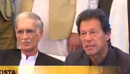 Senate Chairman should be from Balochistan, Imran Khan
