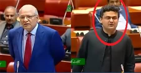 PTI Senator Faisal Javed Khan's Reply To Mushahid ullah Khan in Senate