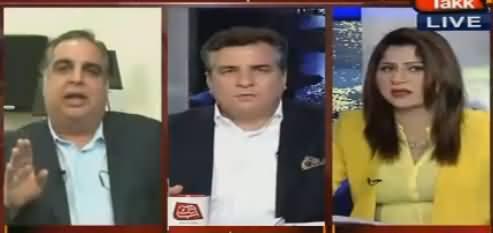 Severe Fight Between Imran Imsail And Daniyal Aziz in Live Show