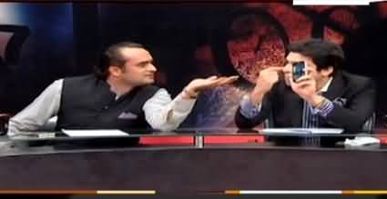 Severe Fight Between Imran Lagahari (PPP) And Faisal Wada (PTI) In Live Show