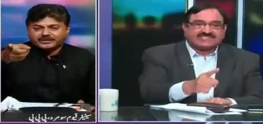 Severe Fight Between Mian Abdul Mannan (PMLN) & Qayyum Soomro (PPP)