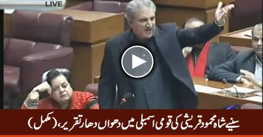 Shah Mahmood Qureshi's Full Speech in National Assembly - 15th December 2016