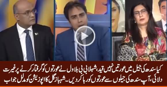 Shahbaz Gill's Befitting Reply to Opposition on Maryam Nawaz Arrest