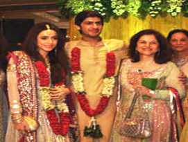 Shahbaz Sharif Daughter got Married with the Grandson of Former Indian Army Lt. General P N Hoon