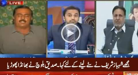Shahbaz Sharif Ordered Me To Get Stay From Court - Siddique Baloch Exposed PMLN Leadership