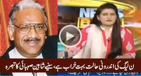 Shaheen Sehbai Analysis on PMLN Ministers Fights & Internal Condition of PMLN