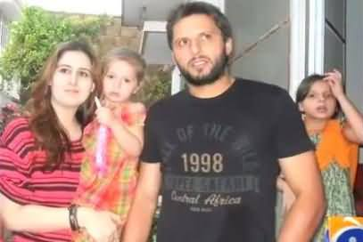 Shahid Afridi Clarifies About a Picture on Social Media and Tells That He do not Use Facebook or Twitter