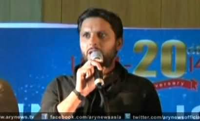 Shahid Afridi Praising Imran Khan Over His Contributions For Pakistan