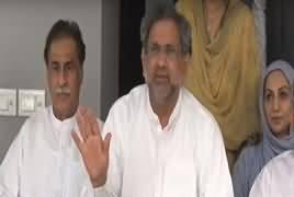 Shahid Khaqan Abbasi Press Conference – 12th July 2019