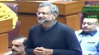 Shahid Khaqan Abbasi's Aggressive Speech Against Govt in Assembly - 12th February 2020