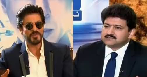 Shahrukh Khan Exclusive Interview With Hamid Mir – 10th April 2016