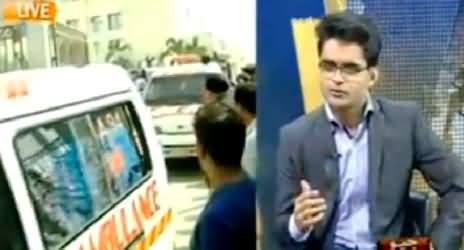 Shahzeb Khanzada Views on Today's Bus Attack Incident in Karachi