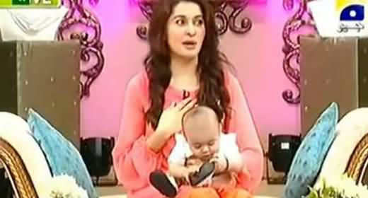 Shaista Wahidi's 7 years girl affected by her vulgar acts and teachings in the show