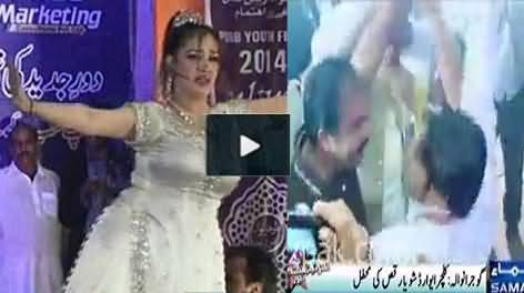 Shameful Mujra in Youth Festival Gujranwala, PMLN MPA Also Dancing