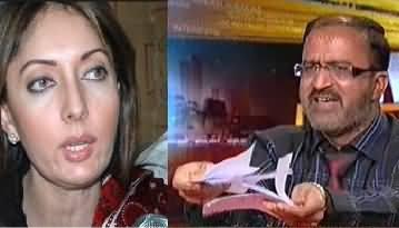 Sharmeela Farooqi Insults Umar Riaz Abbasi, Tahir ul Qadri Representative