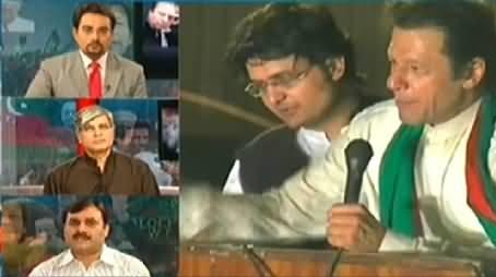 Shaukat Basra Views on Imran Khan's Announcement of Civil Disobedience Movement