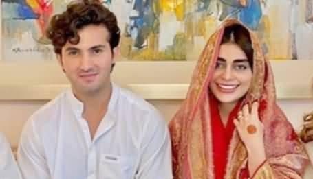 Shehroz Sabzwari And Sadaf Kanwal Got Married