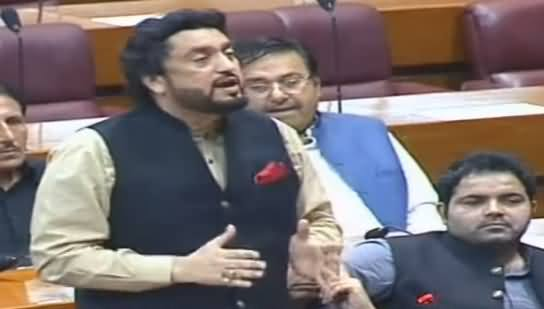 Shehryar Afridi Aggressive Speech in National Assembly on Rana Sanaullah Issue - 16th July 2019