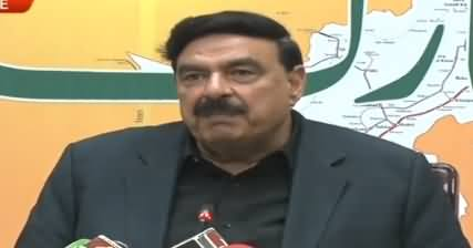 Sheikh Rasheed Ahmad Complete Press Conference - 12th October 2019