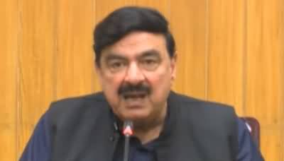 Sheikh Rasheed Ahmad Press Conference in Lahore - 21st September 2019