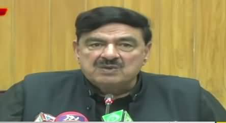 Sheikh Rasheed Ahmad Press Conference in Lahore | 5 October 2019