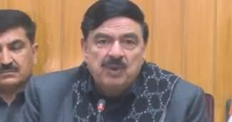 Sheikh Rasheed Ahmad Press Conference in Lahore - 5th January 2019