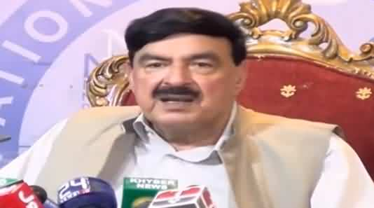 Sheikh Rasheed Ahmad Complete Press Conference - 8th August 2019